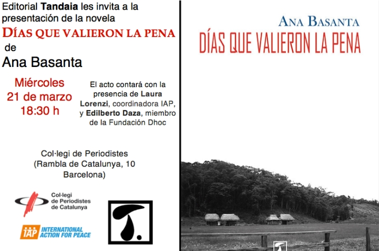 #Díasquevalieronlapena #AnaBasanta